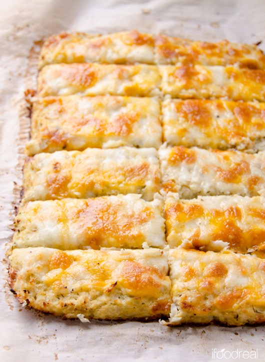 Cauliflower Breadsticks Recipe