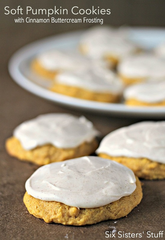 Soft-Pumpkin-Cookies-with-Cinnamon-Buttercream-Frosting-SixSistersStuff-700x1018