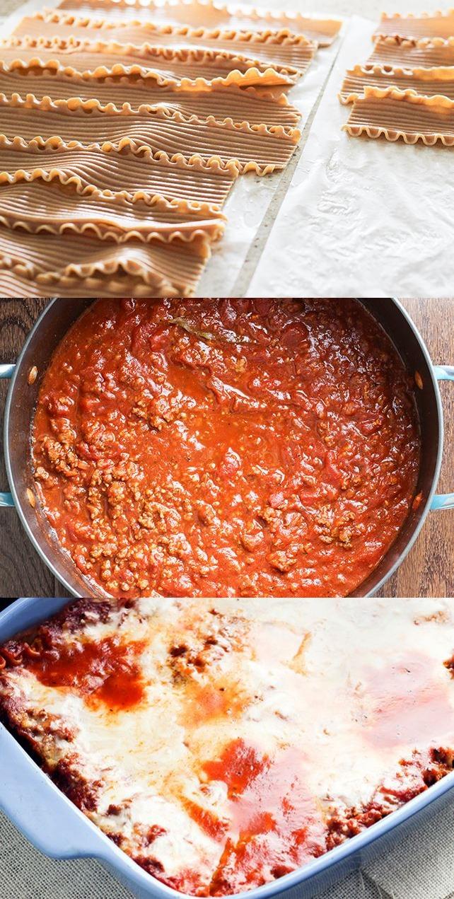 World's Best Skinny Lasagna