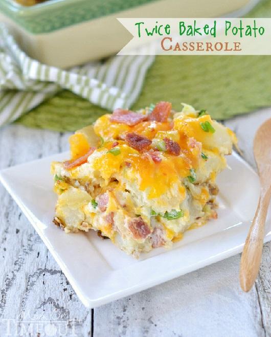 Twice Baked Potato Casserole