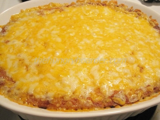 Corn Casserole with Green Chiles