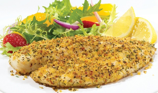 Lemon Pepper Dill Tilapia Recipe
