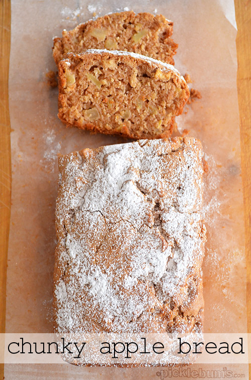 Chunky Apple Bread