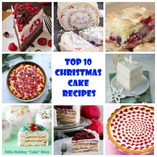 Top 10 Christmas Cake Recipes