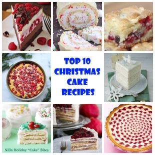 Top 10 Christmas Cake Recipes