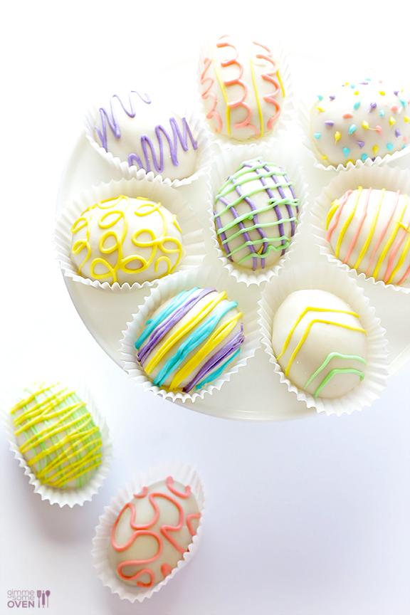 Easter Egg (Golden) Oreo Truffles