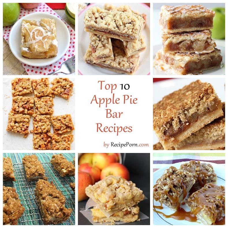 Top 10 apple pie bar recipes recipeporn for Bar food top 10