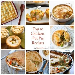 Top-10 Chicken Pot Pie Recipes