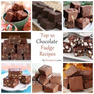 Top-10 Chocolate Fudge Recipes