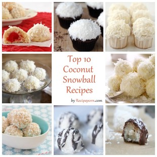 Top-10 Coconut Snowball Recipes