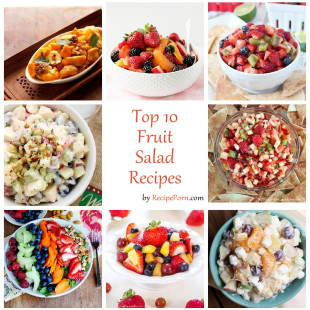 Top-10 Fruit Salad Recipes