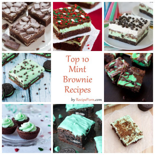 Top-10 Mint Brownie Recipes