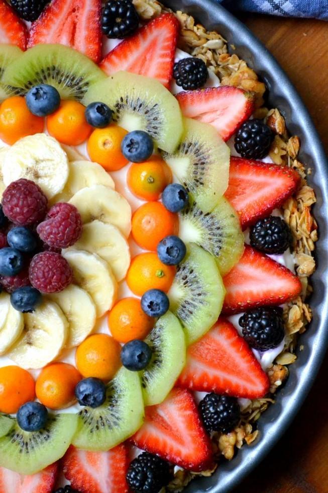 Beautiful Breakfast Tart (Gluten Free)