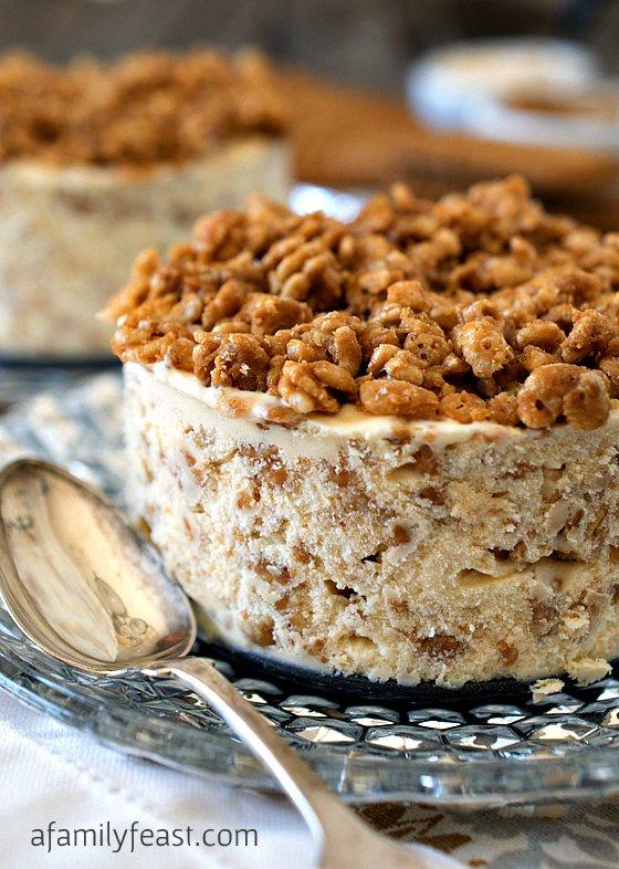 Biscoff Crunch Ice Cream Cake