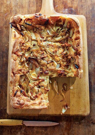 Onion and Bacon Tart