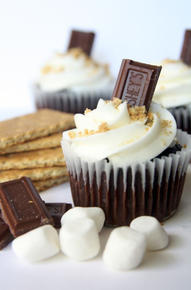 S'more Cupcakes Please