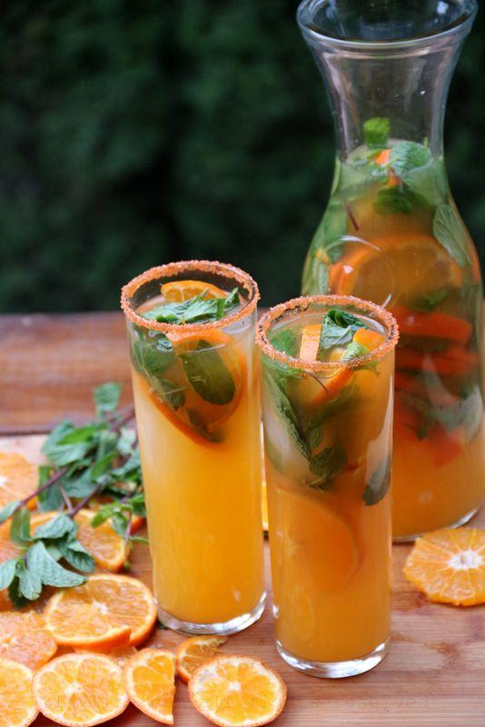 Tangerine or Mandarin Mojito