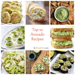 Top-10 Avocado Recipes