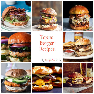 Top-10 Burger Recipes