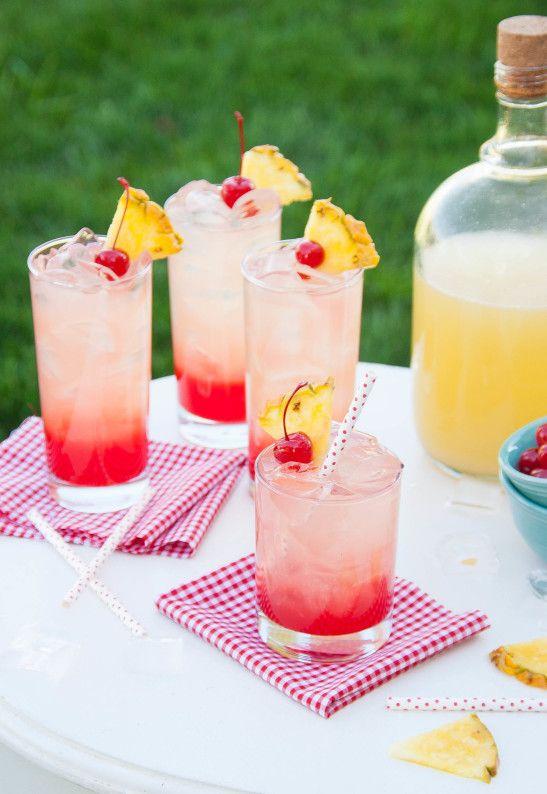 Cherry Pineapple Lemonade