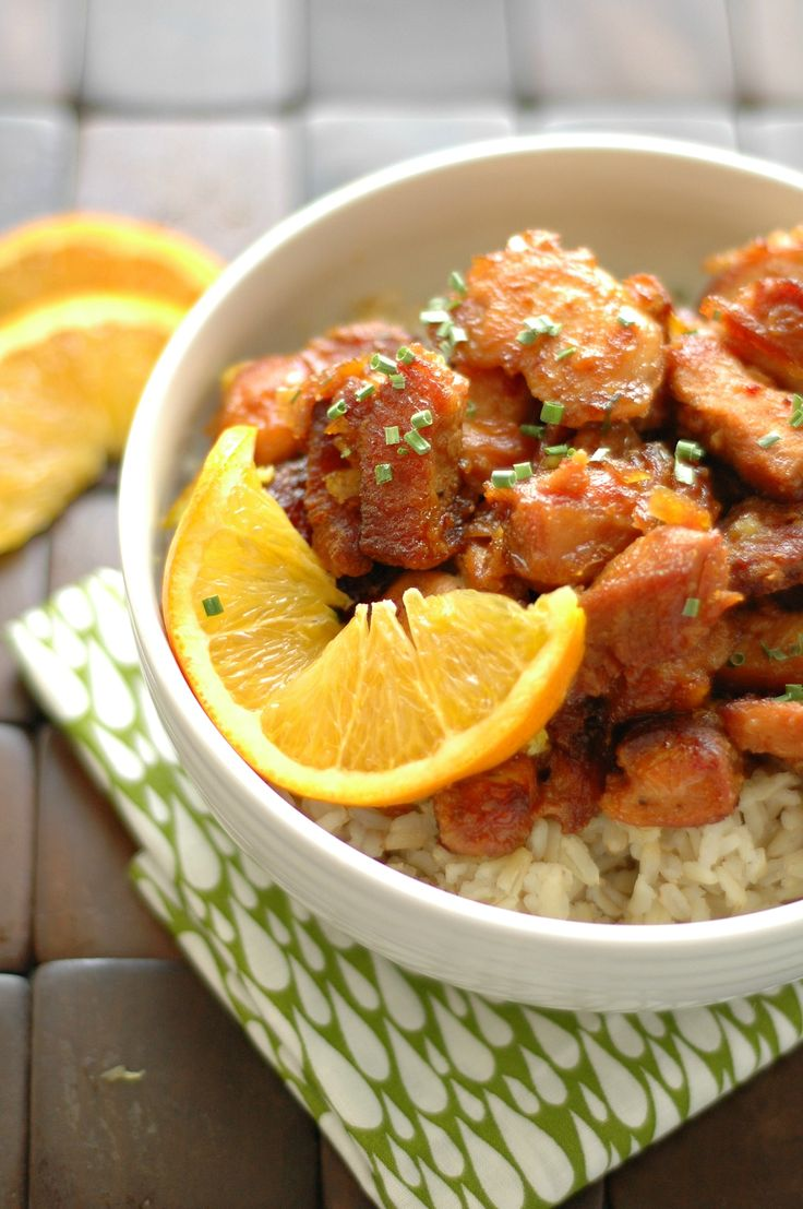 Crockpot Crispy Orange Chicken