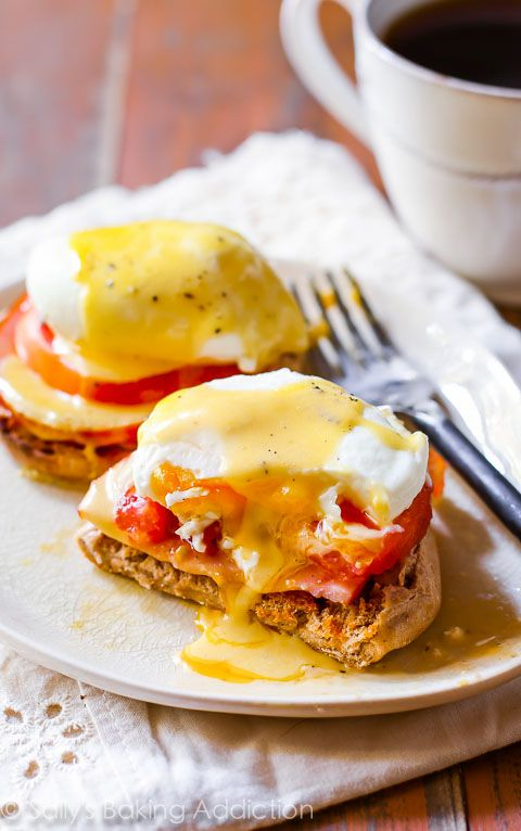 Sunday Morning Eggs Benedict
