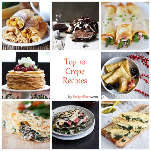 Top-10 Crepe Recipes