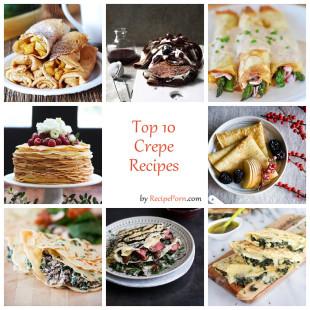 Top-10 Crepe Recipes