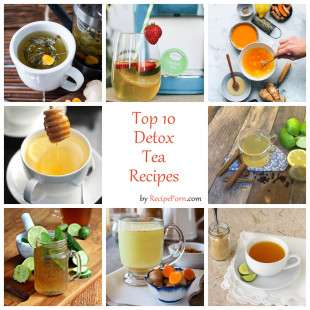Top-10 Detox Tea Recipes