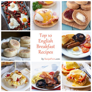 Top-10 English Breakfast Recipes