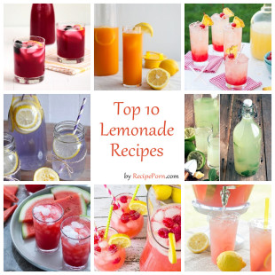 Top-10 Lemonade Recipes