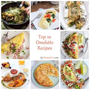 Top-10 Omlette Recipes
