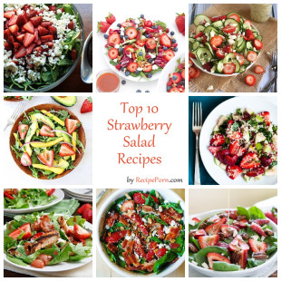 Top-10 Strawberry Salad Recipes