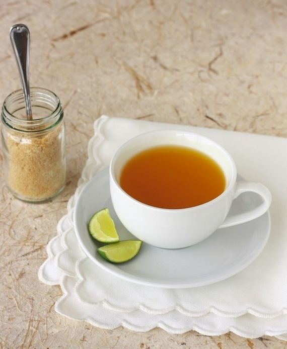 Turmeric Tea with Lime