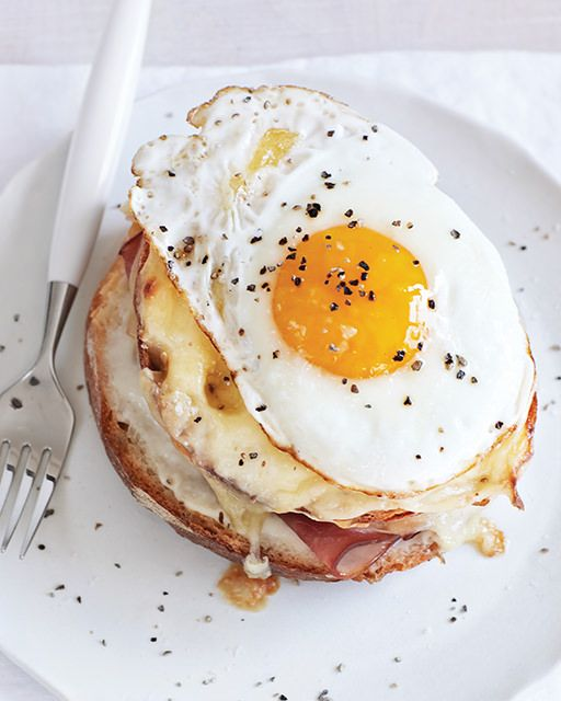 Croque Madame a la Sweet Paul