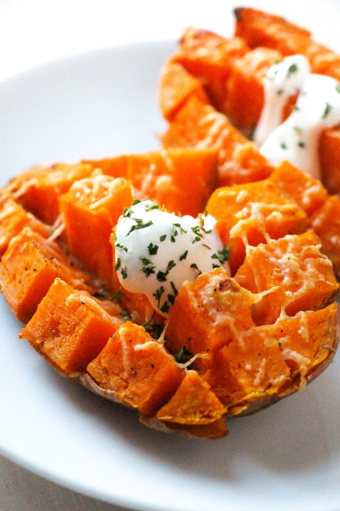 Easy 15 Minute Roasted Sweet Potatoes