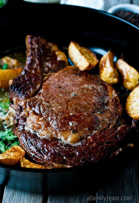 Perfect Pan-Seared Steak