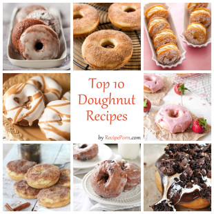 Top-10 Doughnut Recipes