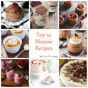 Top-10 Mousse Recipes
