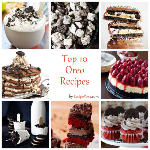Top-10 Oreo Recipes