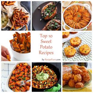 Top-10 Sweet Potato Recipes