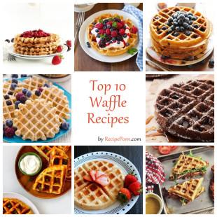 Top-10 Waffle Recipes