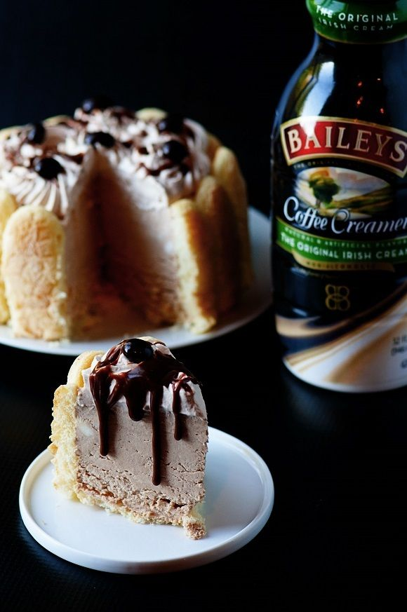 Bailey's Frozen Tiramisu Cheesecake