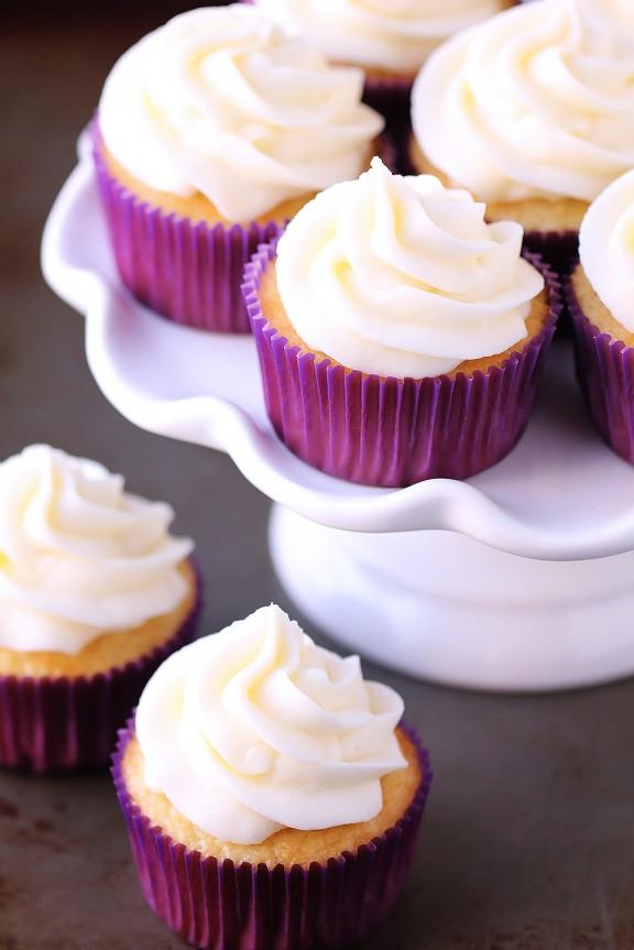 Favorite Vanilla Cupcakes