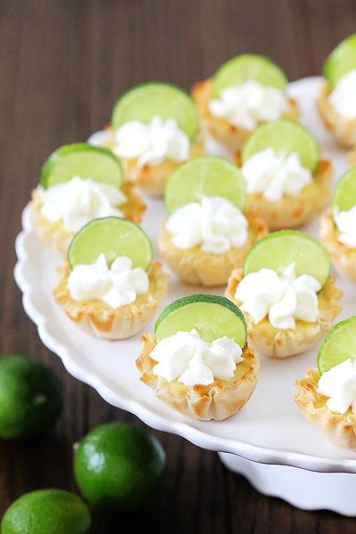 Key Lime Tartlets