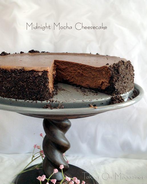 Midnight Mocha Cheesecake