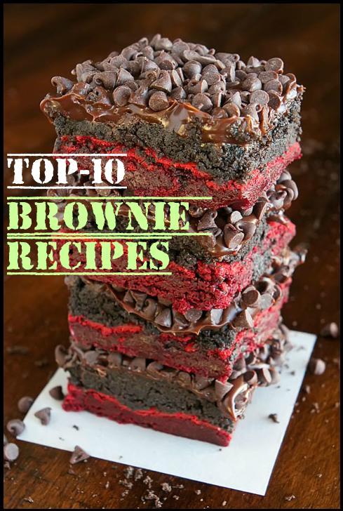 Top-10 Brownie Recipes