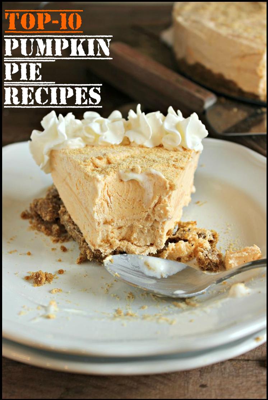 Top-10 Pumpkin Pie Recipes