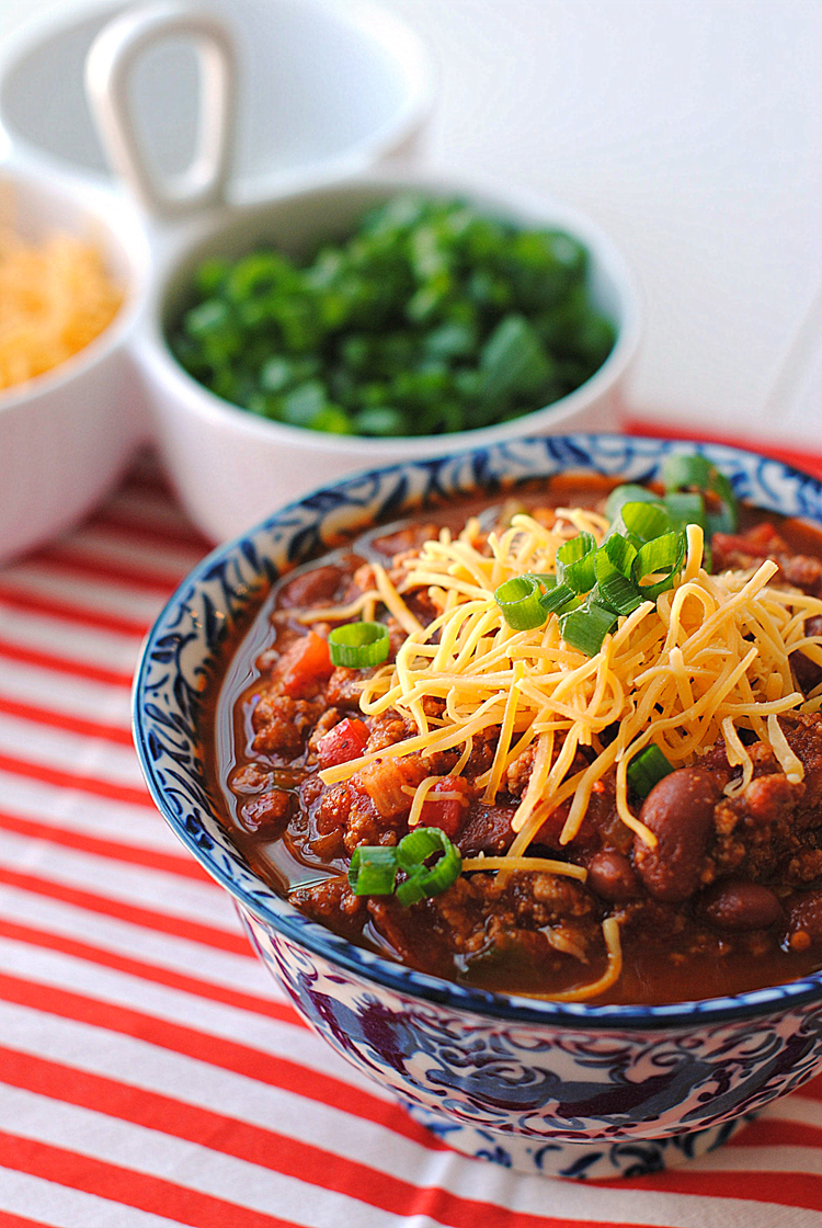 Healthy and Clean Turkey Chili