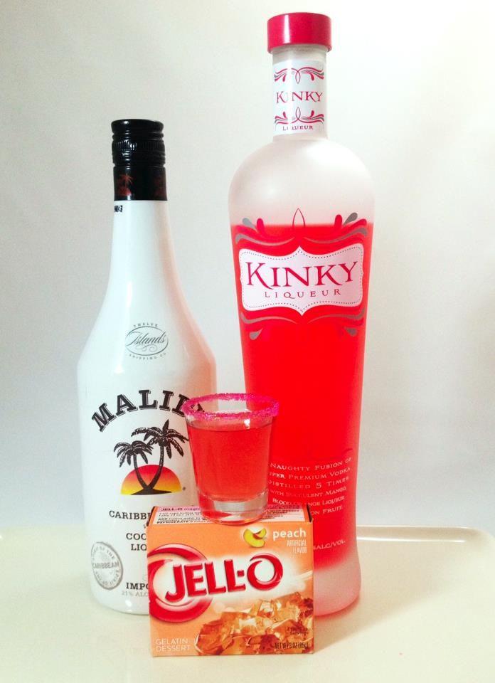 Kinky Malibu Barbie Jell-O Shots